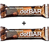 BOGO Double Chocolate Brownie High Protein dotBAR